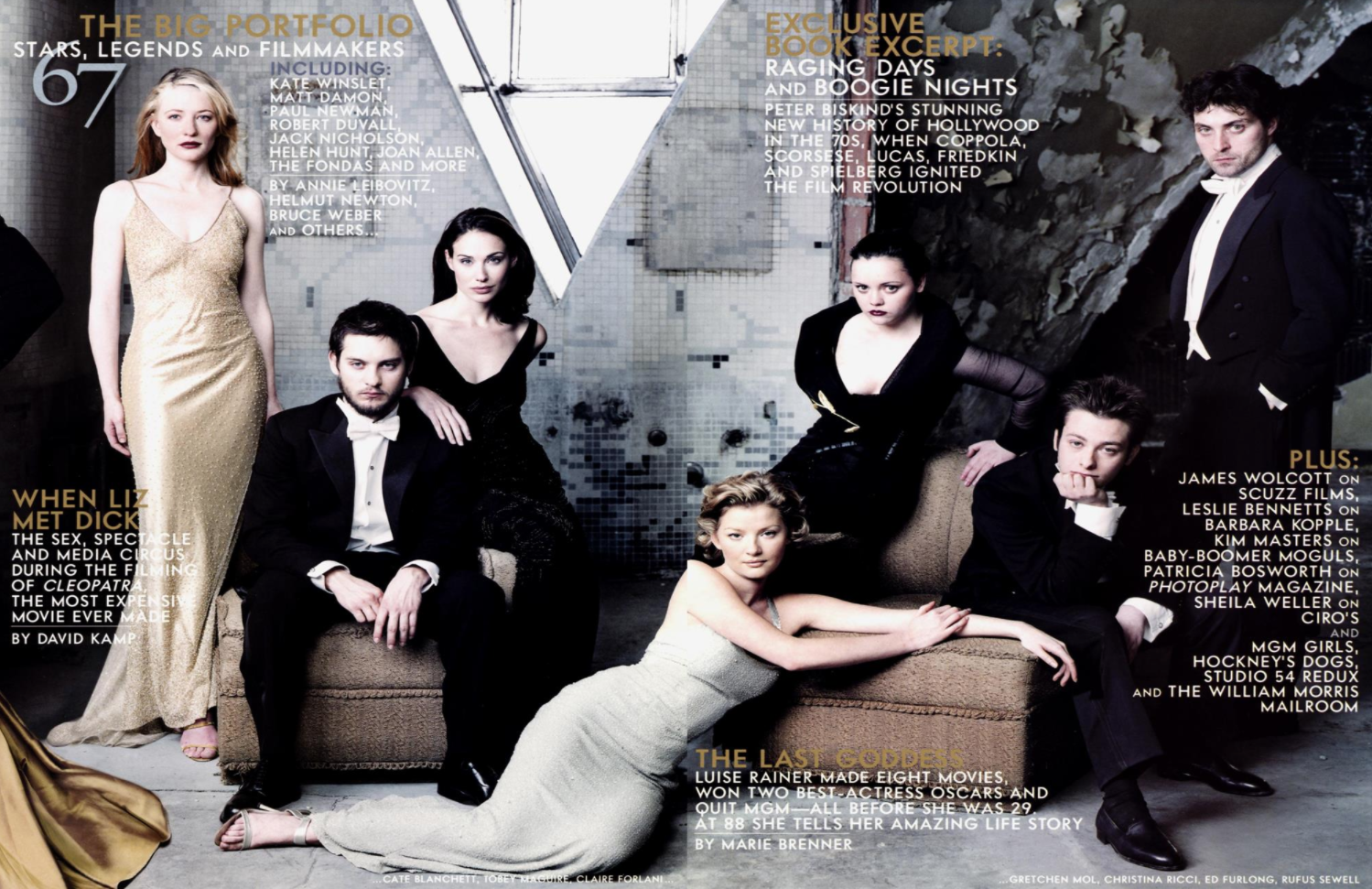 Curio Viola And Firsts On Vanity Fair Covers Blog The Film Experience