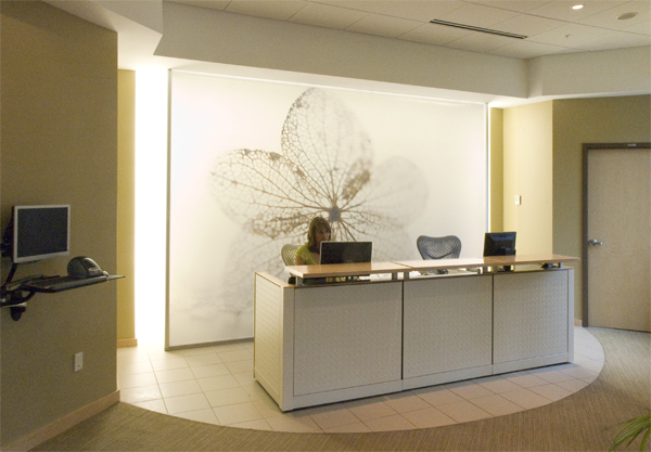 Curvwork Completes The Architectural Signage And Interior Design Of Coastal Women S Healthcare New Offices