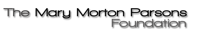 The Mary Morton Parsons Foundation