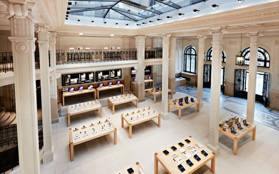 tres chic apple store home atelier turner the design blog interior architecture and. Black Bedroom Furniture Sets. Home Design Ideas