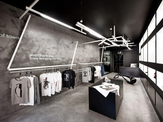 Hats off to retail design home atelier turner the for Commercial space design