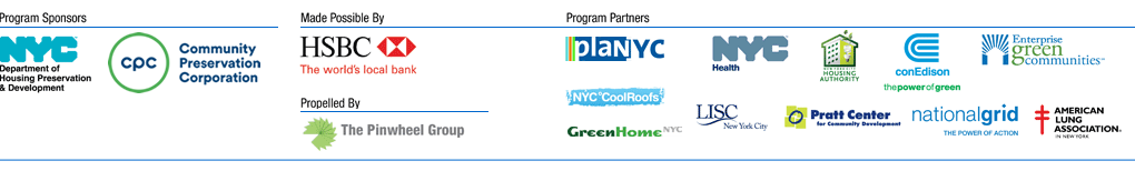 NYC Green House Partners & Sponsors Logos