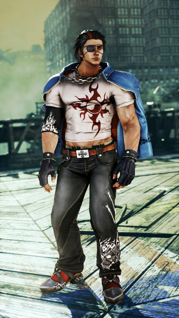 Official Images Of New Tekken 7 FR Character Default