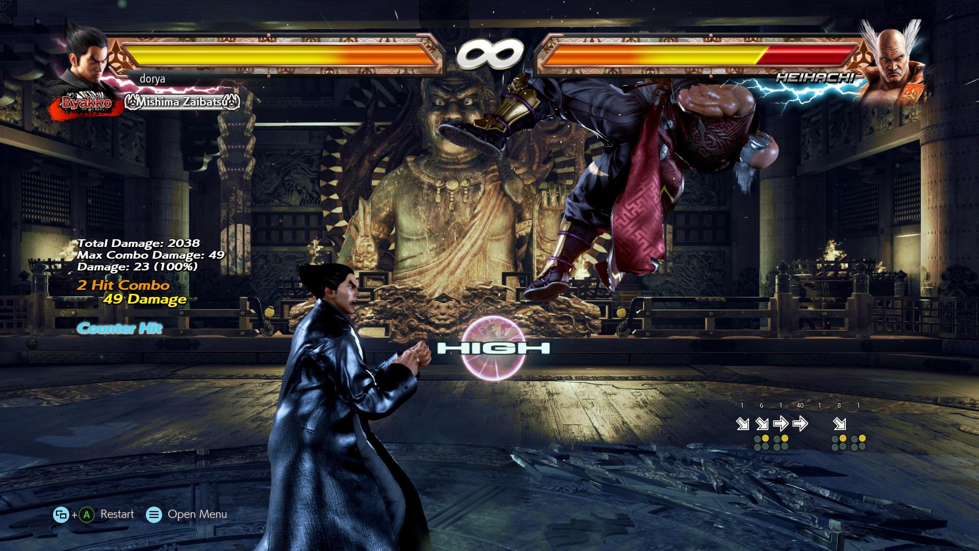 Pc Tekken 7 Input Frame Count Display Mod News Avoiding The Puddle