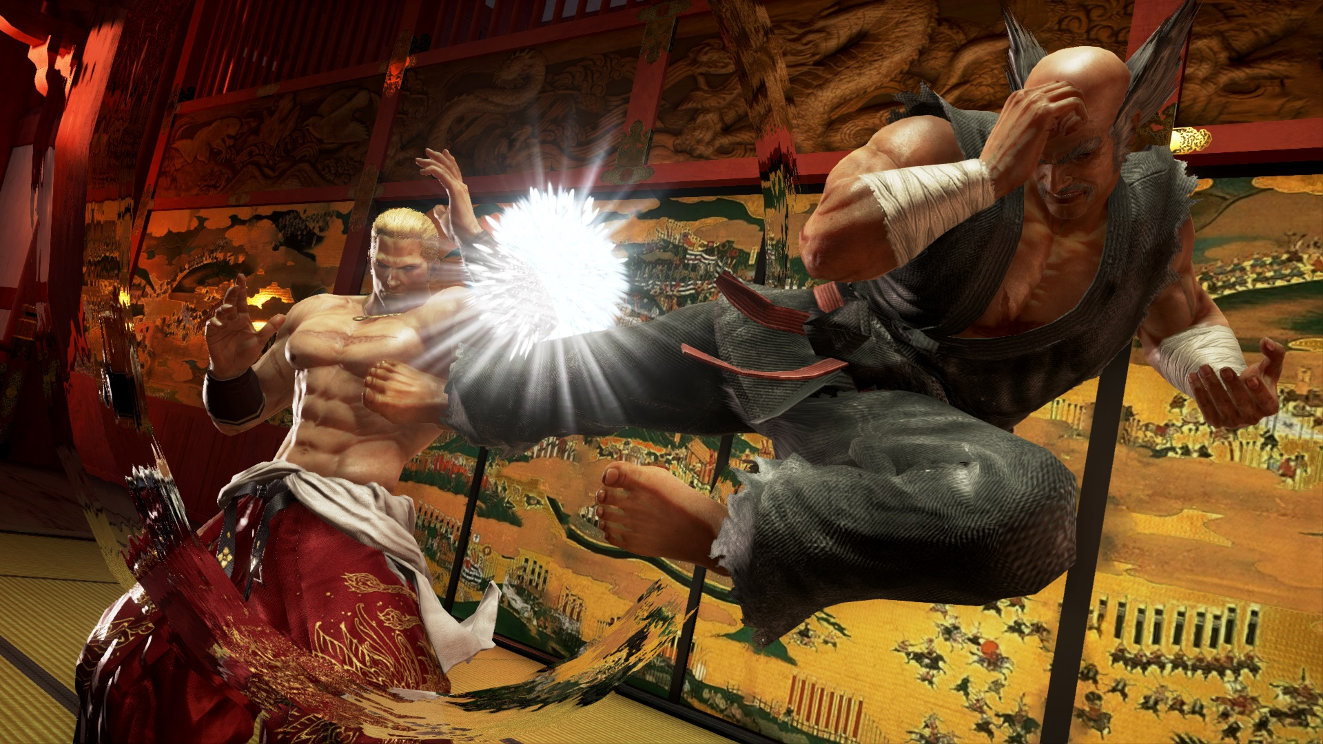 Tekken 7 Geese Howard Gameplay Videos From Twt Finals News Avoiding The Puddle