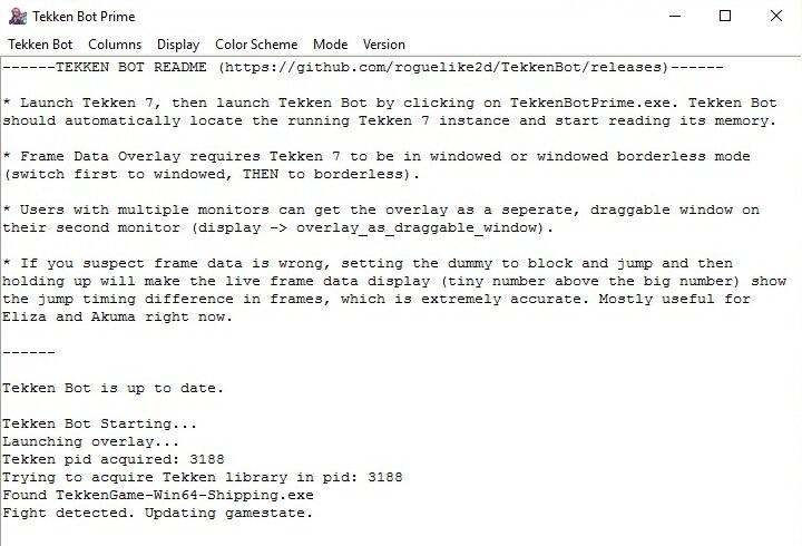 Tekken 7 PC - TekkenBot Prime Command Input Overlay - News ...