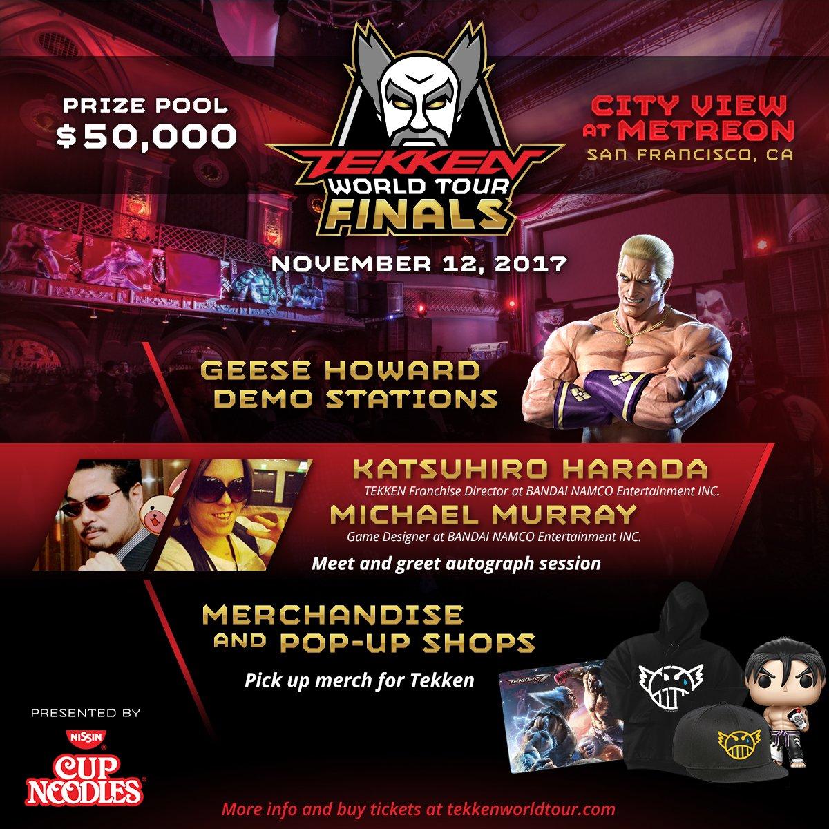 Tekken world tour finals taking place november 12 with playable tekken world tour finals poster kristyandbryce Gallery