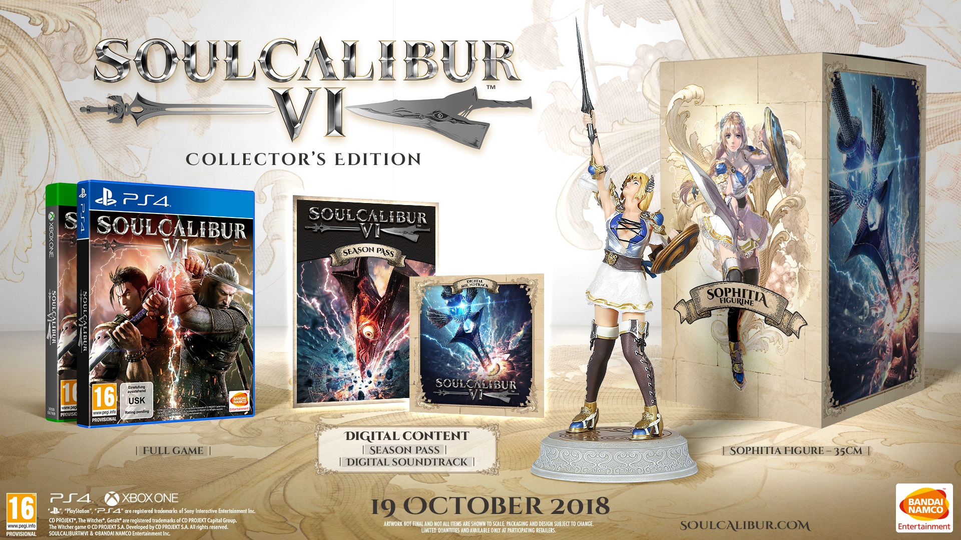 Soul Calibur 6 Release Date Announced for October 19th
