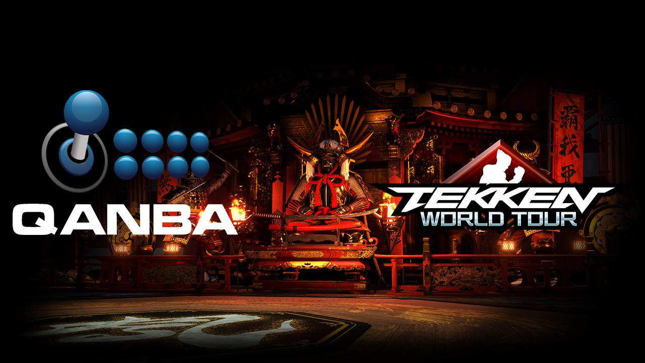 Qanba Unveils Limited Edition Tekken World Tour Arcade Sticks News Avoiding The Puddle