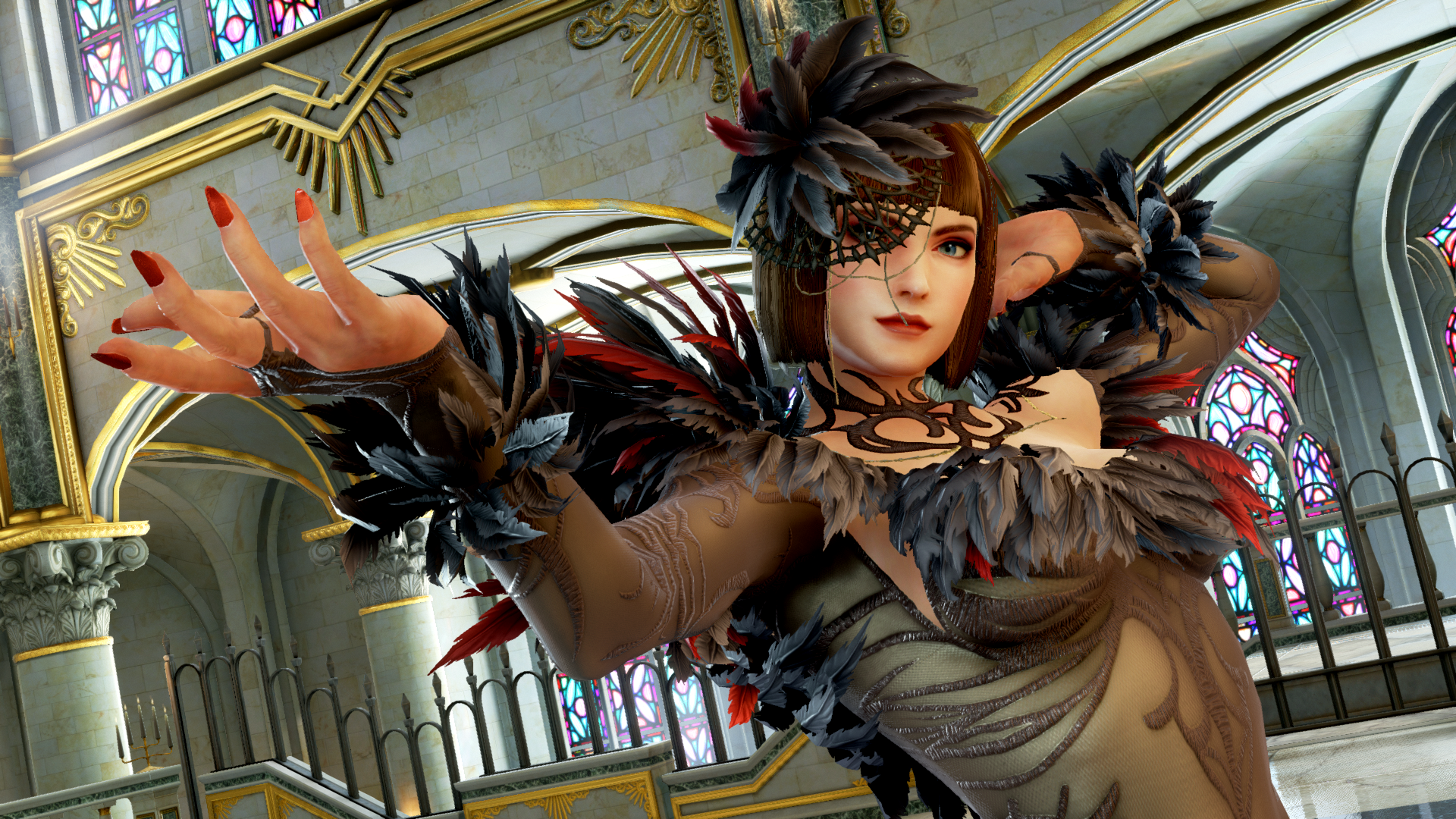 Gallery Tekken 7 Anna Williams Lei Wulong Character Reveal