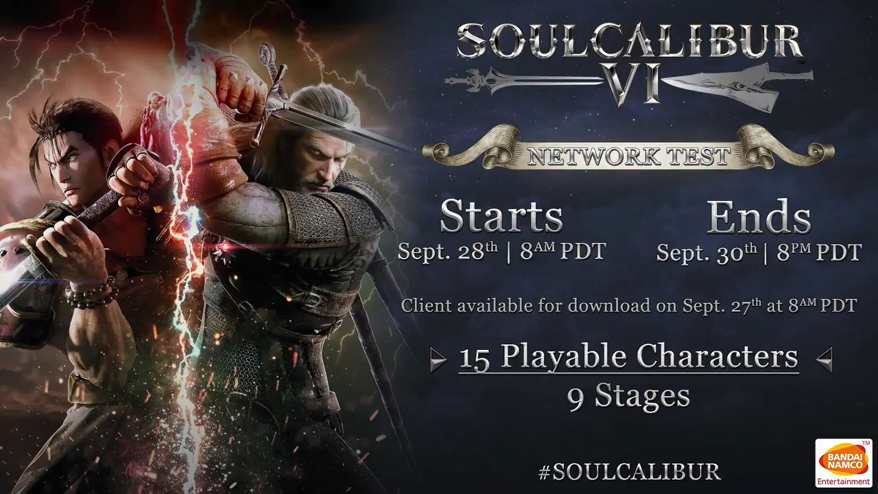 Soul Calibur 6 Network Test For Playstation 4 Xbox One Scheduled For Sep 28 30 News Avoiding The Puddle