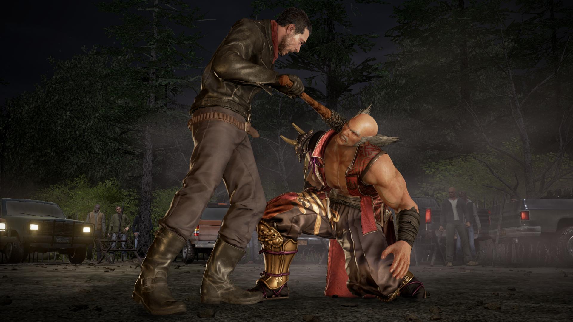Gallery Tekken 7 Julia Chang Negan Gameplay Screenshots News Avoiding The Puddle