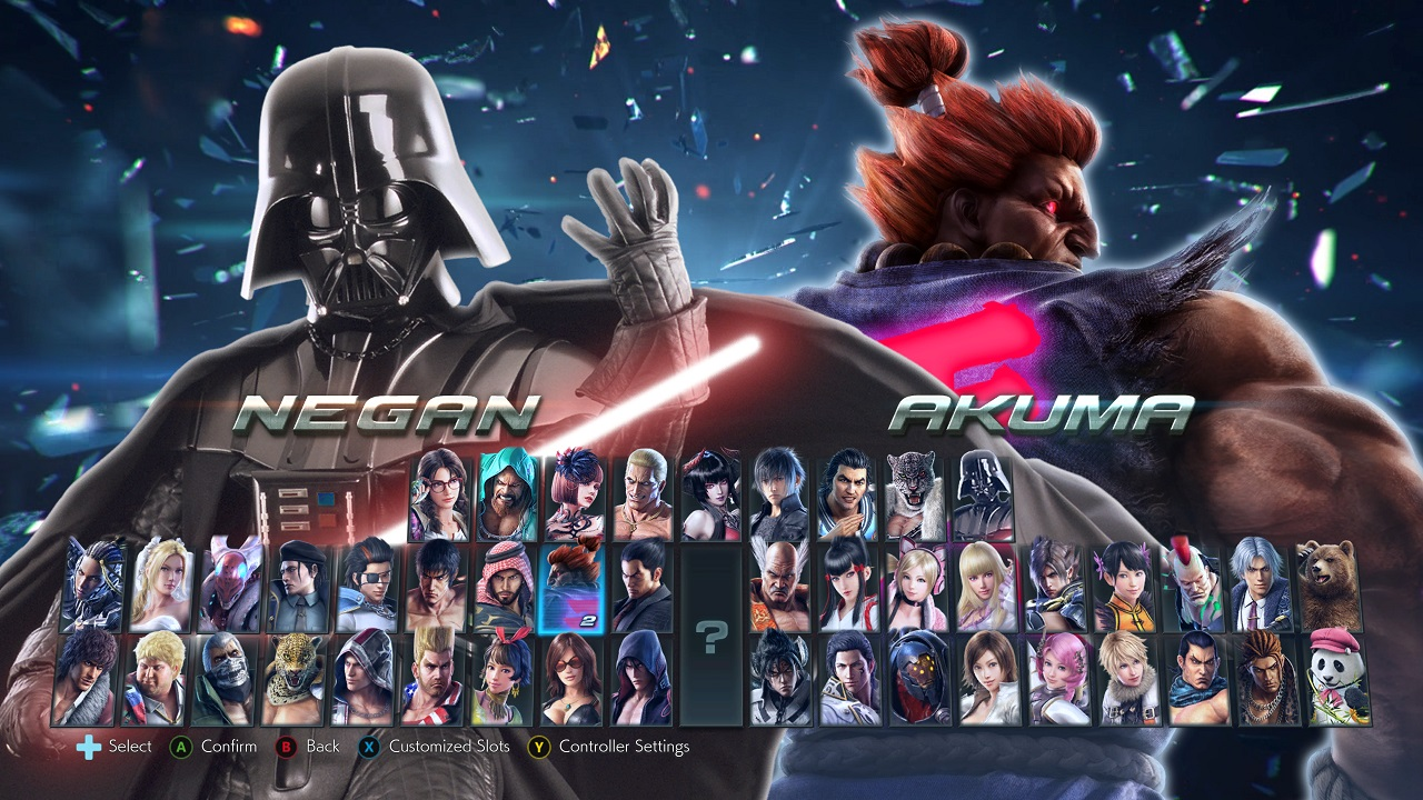 Tekken 7 Mod Adds Darth Vader To The Roster News Avoiding The