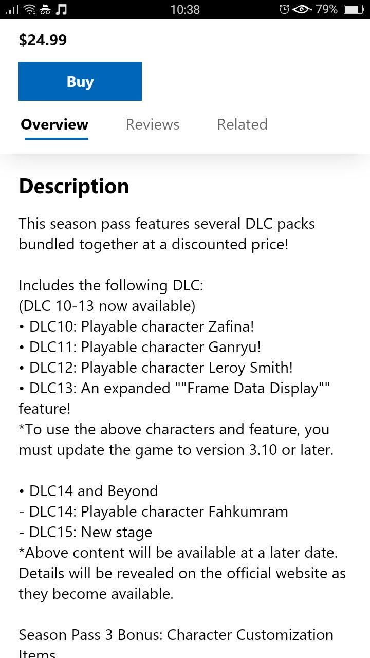 Rumor Microsoft Store Leaks Tekken 7 S Season Pass 3 Contents