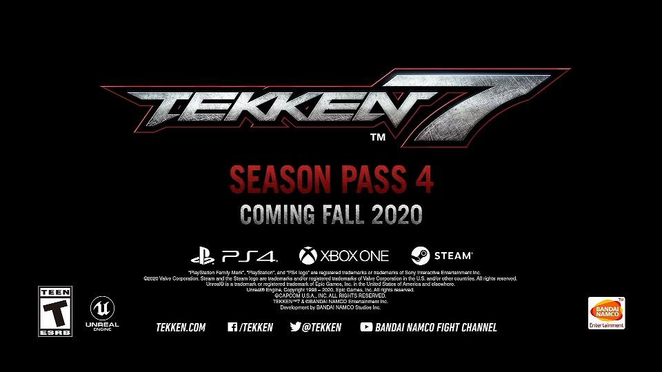 Season 4 Of Tekken 7 Announced With Balance Adjustments And Online