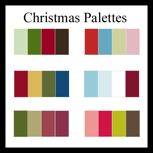 Christmas Colors Palette.Charming Bliss Charming Bliss Blog 6 Christmas Color