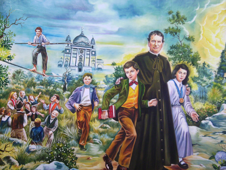 preventive system of don bosco John bosco photo christian quotations by don bosco  on love rather than  punishment, a method that became known as the salesian preventive system.