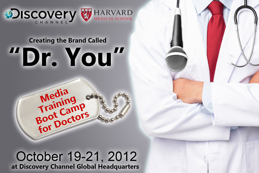 nonclinical media training conference for physicians