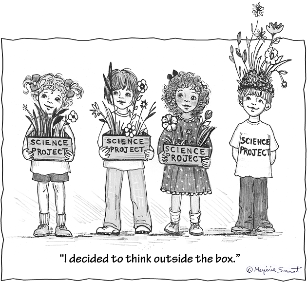 thinking outside the box essay examples