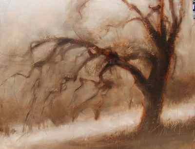 My First Painting Was Supposed To Be A Simple Tree Study Of Course Trees Are Very Hard Capture The Drawing Issues Gesture And Structure