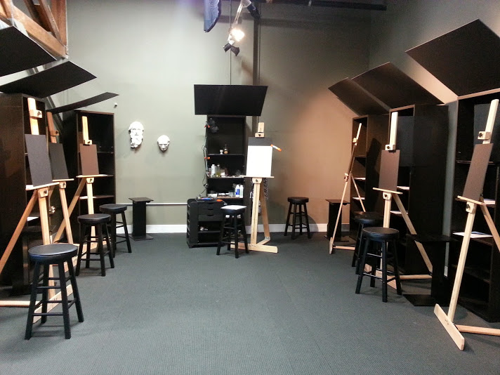 Still life and cast stands setup and lighting blog for Canvas painting classes