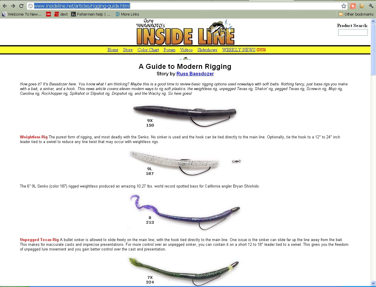 Pin bass fishing rigs on pinterest for Bass fishing rig