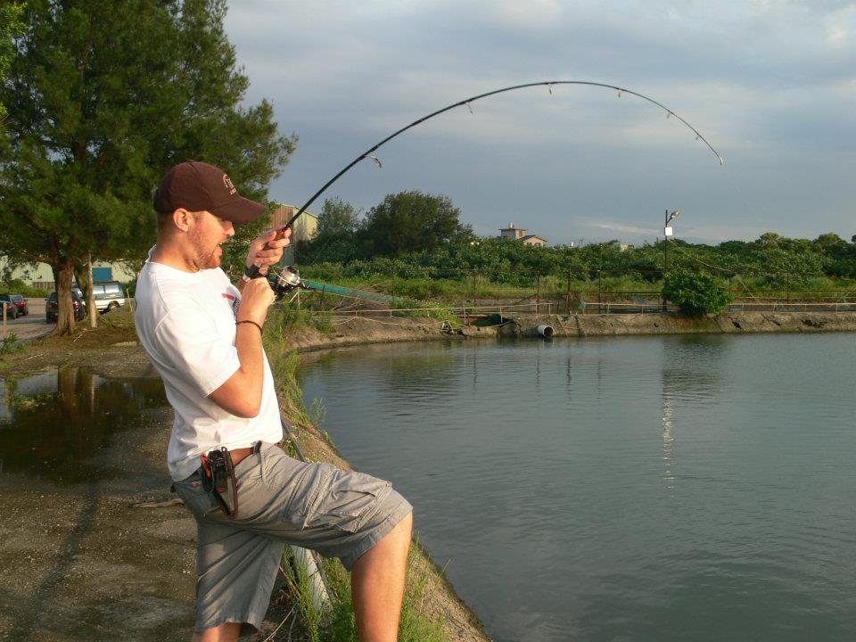 Red Drum At Nanliao Saltwater Ponds Adventures Of An