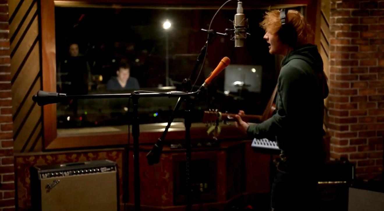 The House Of Coxhead Home Ed Sheeran You Need Me I Don 39 T Need You Live The Hinge Studios