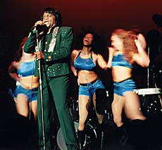 james brown godfather soul go-go dancers bikini bra singer stage performer