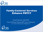 Family-Centered Services Enhance PMTCT
