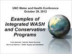 Examples of Integrated WASH and Conservation Programs