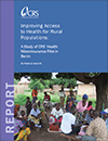 Improving Access to Health for Rural Populations: A Study of CRS Health Microinsurance Pilot in Benin