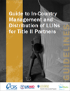 Guide to In-Country Management and Distribution of LLINs for Title II Partners