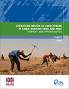 Literature Review of Land Tenure in Niger, Burkina Faso, and Mali: Context and Opportunities