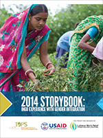 2014 Storybook: INGO Experience with Gender Integration