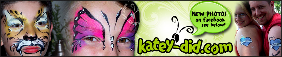 Face Painting by Katey-did | Kansas City | Olathe | Overland Park | Johnson County, KS