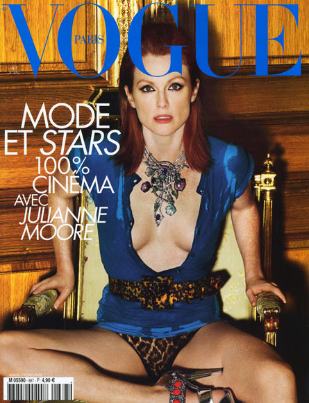 julianne moore. Julianne Moore for Vogue