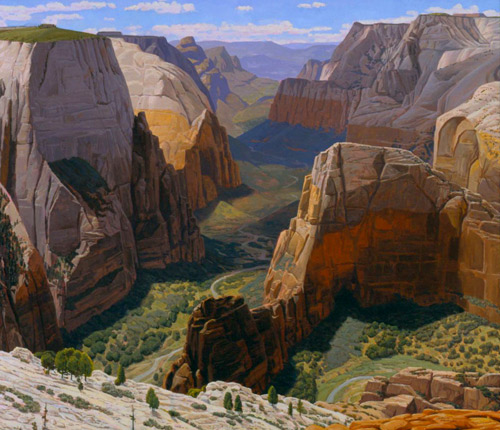 """Red River Ford >> - Painting, Photography and Sculpture - """"Painters of Utah ..."""
