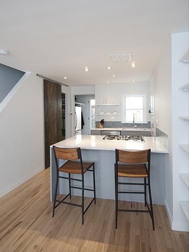 Mershon Design Philadelphia Rowhouse Remodel