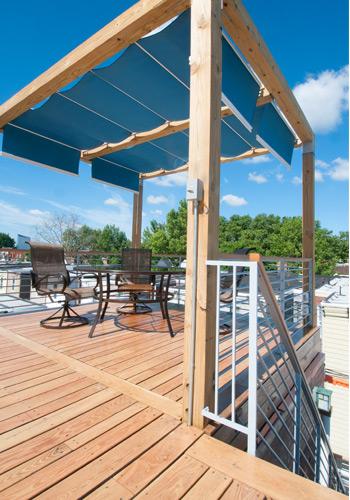 Mershon Design Philadelphia Roof Deck