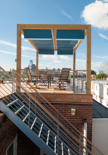 Mershon Design Philadelphia Roof Deck