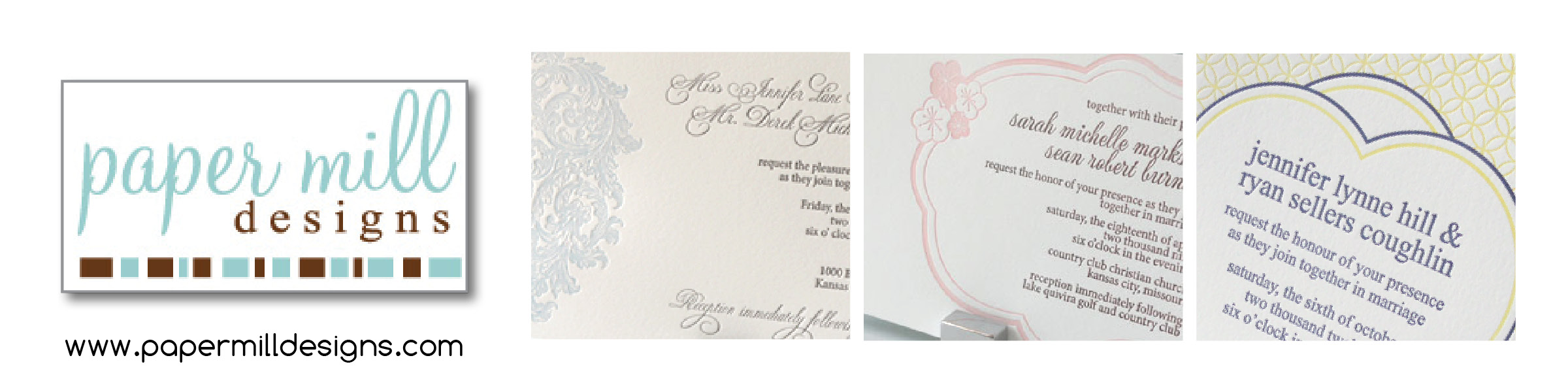 Toronto Letterpress - Toronto Wedding Invitations