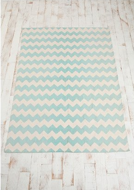 Affordable Chevron Rug