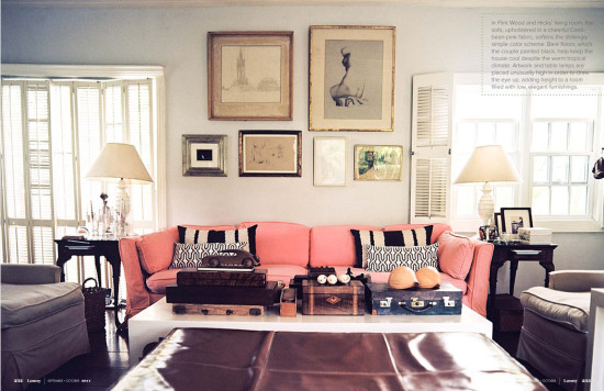 Pink Upholstery Style Edition Style Edition Blog Style