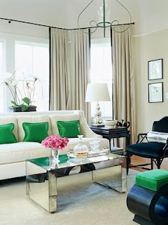 Decorating With Green Accents