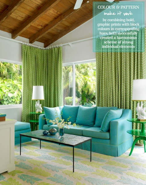 Style edition blog style edition for Green and beige living room ideas