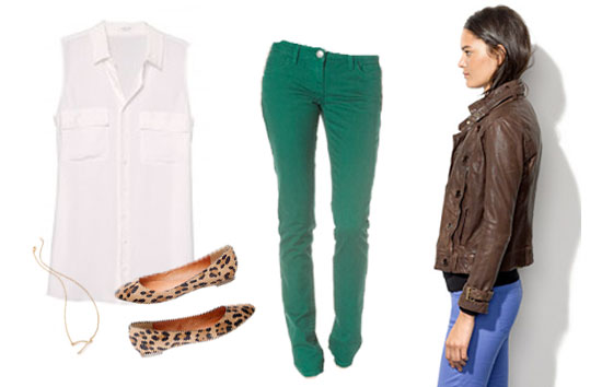 How to Wear: Green Pants - Style-Edition Blog - style-edition