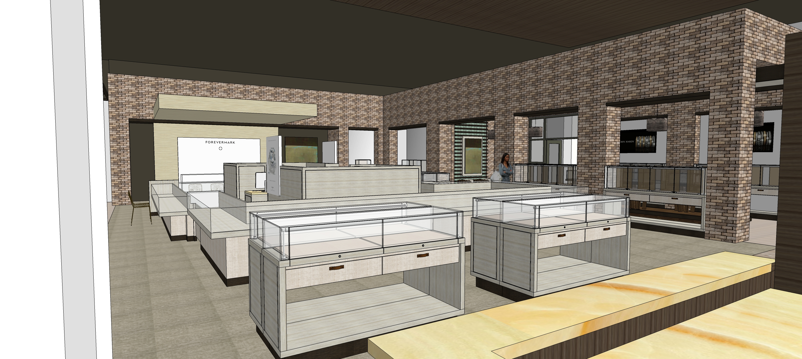Construction Is Underway On A New 8 000 Sf Jewelry Buildout In The Florida Panhandle Finished Photos To Follow