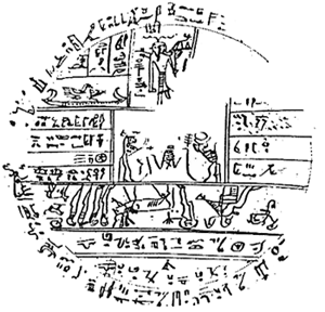 Source papyrus for Facsimile 2