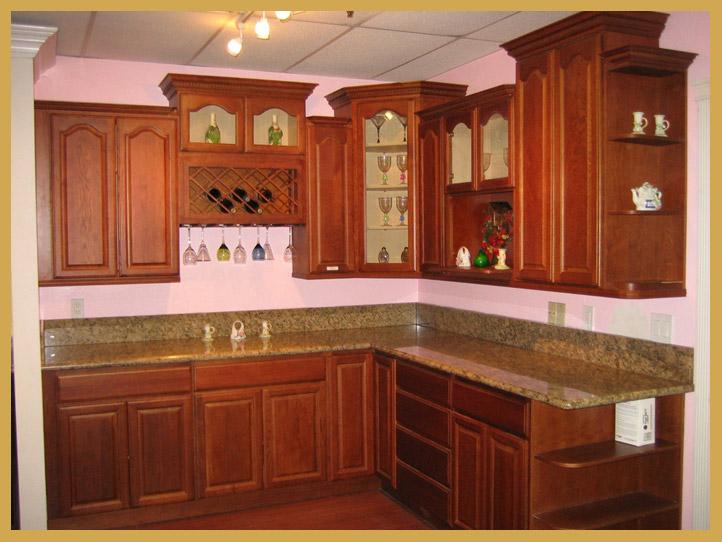 Kitchen cabinets wholesale walnut oak for A z kitchen cabinets ltd